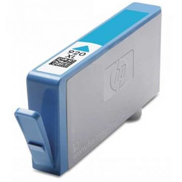 HP 920XL Cyan High Capacity Refurbished Ink Cartridge (CD972AE)